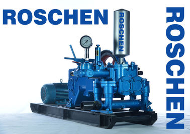Blue Horizontal Three Cylinder Mud Pumps For Drilling Rigs RS-120-2